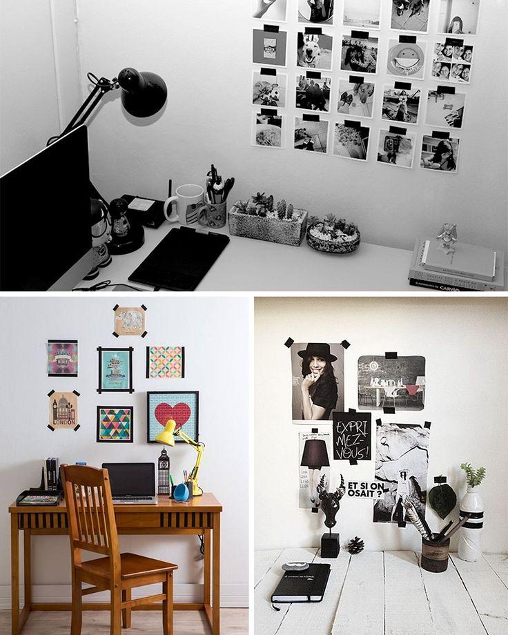4 ideias para decorar a casa usando fita isolante - Casinha Arrumada