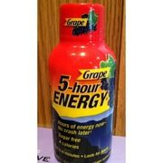 I just looked up 5-hour Energy Energy Shot, Grape on @Fooducate  Fooducate grades foods based on their nutrients and ingredients.  Give it a try!