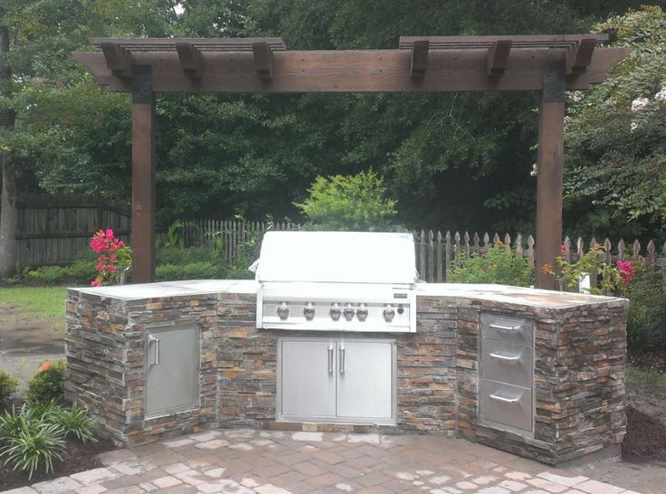 12 best images about outdoor kitchen ideas on pinterest for Ready made outdoor kitchen