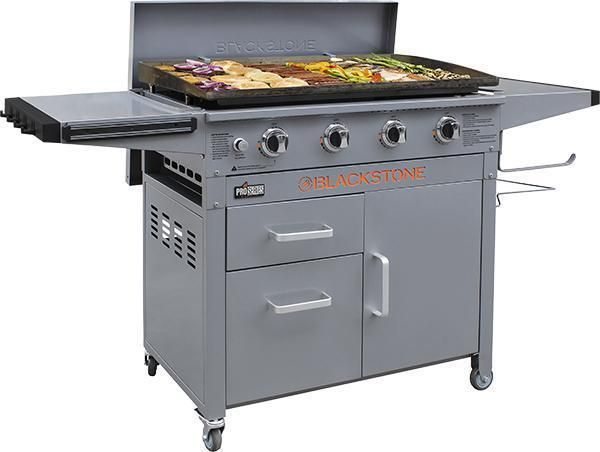 Blackstone 36 Pro Series Griddle With Hard Cover Oifjrghoi Built In Grill Cooking Accessories