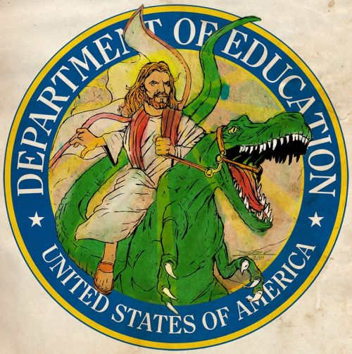This Must Be the New Department of Education Logo