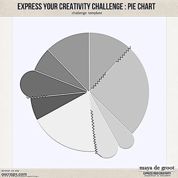 65 best scrapbook albums images on Pinterest Scrapbook albums - pie chart templates