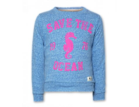 American Outfitters C-neck sweater ocean