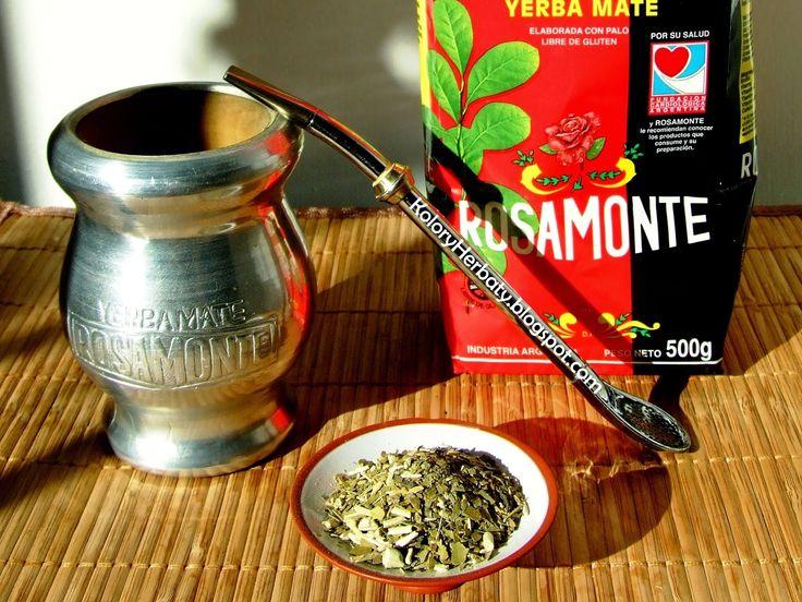 Kolory Herbaty: Rosamonte Elaborada Con Palo - kiedyś smakowała zu...