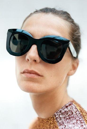 ccd11fd9266e Celine Oversized Sunglasses
