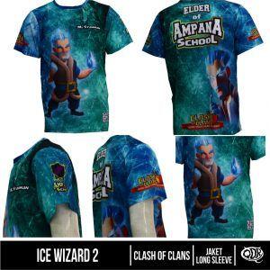 T Shirt/Jersey Ice Wizard 2 | Kaos dan Jersey Distro Bandung