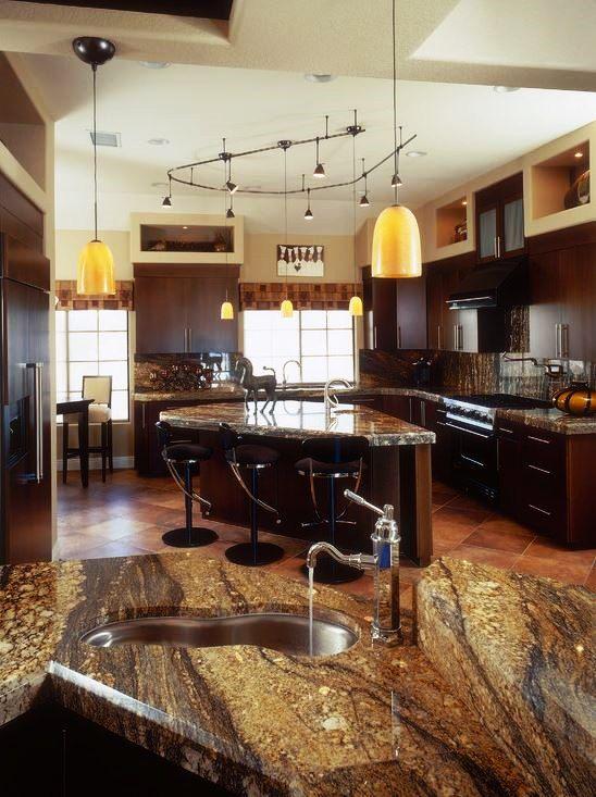 granit ist der traditionelle arbeitsplatte material wegen seiner einzigartigen farben und mustern - Kchen Mit Weien Schrnken Und Arbeitsplatten Aus Granit