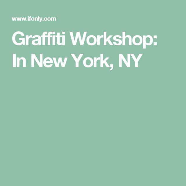 Graffiti Workshop: In New York, NY