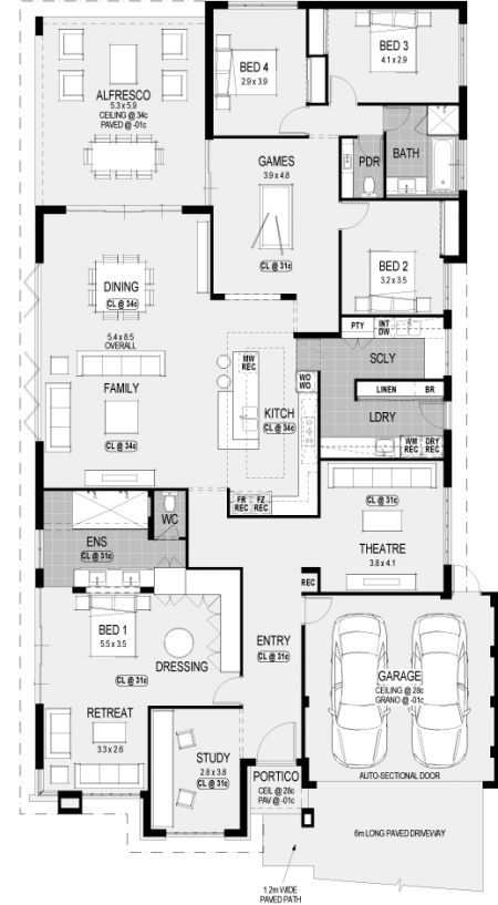 Nice!! Needs some changes thp Washington Platinum floorplan