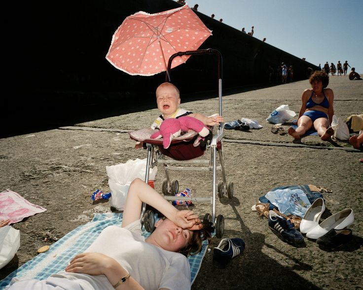 """Magnum Photos - Martin Parr,  """"The Last Resort""""."""