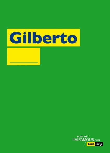 FontShop: Gilberto
