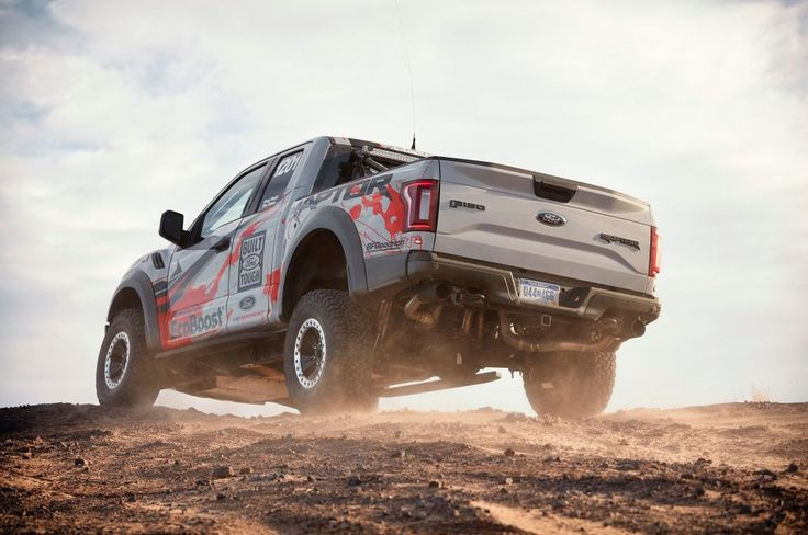 SEMA 2016: Stock Ford Raptor Ready for Baja 1000 - http://carparse.co.uk/2016/10/31/sema-2016-stock-ford-raptor-ready-for-baja-1000/