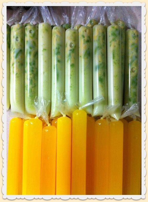 The Red Apron: Avocado, Coconut and Mango Ice Candy