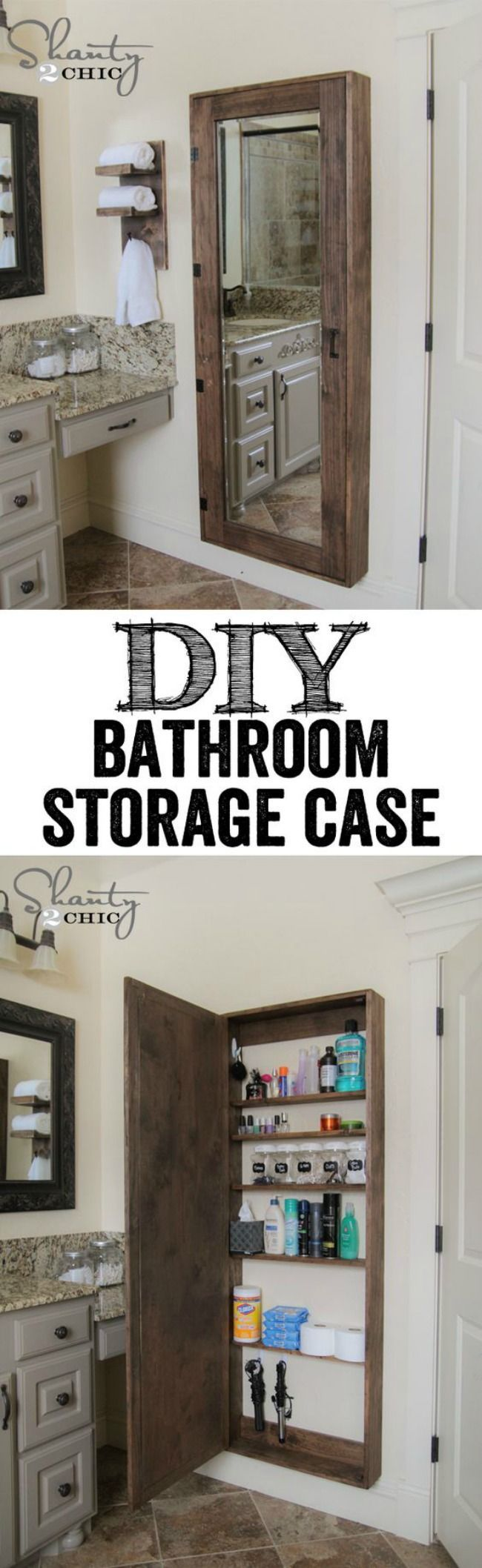 Organizing your bathroom and maximizing the space can seem like a daunting task depending on the state that it's in. But, by utilizing a few easy tips, you can have your bathroom in tip top shape in no time.