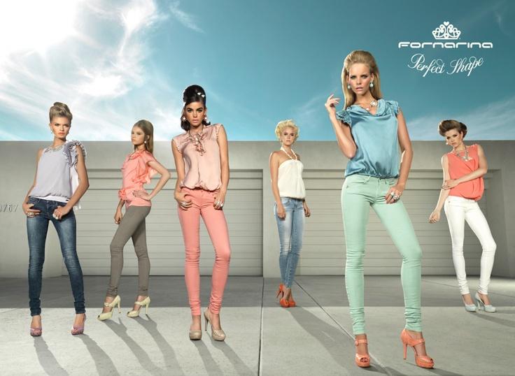 #Fornarina #PerfectShape #ADV #Bambi #Marloes #models