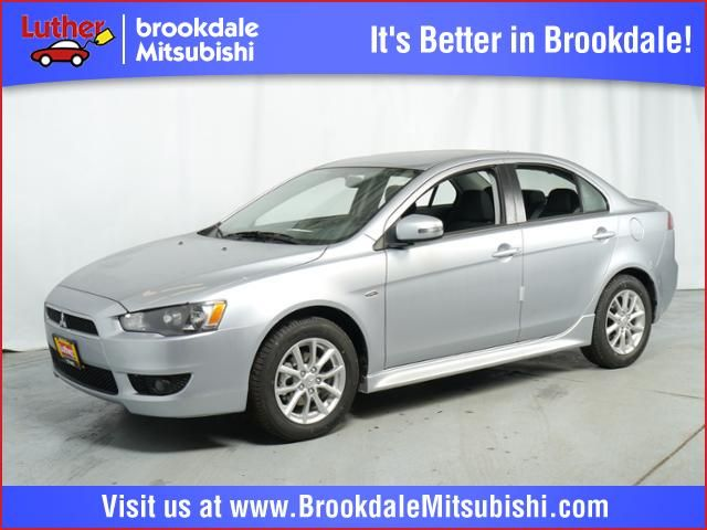 New 2015 Mitsubishi Lancer For Sale in Brooklyn Center MN at Luther Brookdale Mitsubishi dealership Minneapolis, Golden Valley, Plymouth, Bloomington MN. Mitsubishi Lancer for sale. New Lancer for sale. New Mitsubishi sedan. Mitsubishi vehicles for sale Minnesota.