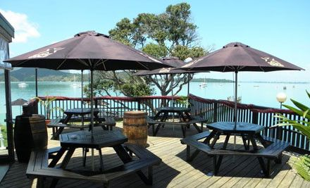 Parua Bay Tavern - a great place to stop over if you head out tho the Whangarei Heads area. NORTHLAND'S BEST GASTRO PUB - Parua Bay Tavern is nestled on the waterfront of the beautiful Whangarei Heads harbour under the majestic Mt. Aubrey and Whangarei Headland. With its own jetty and picturesque outlook the tavern is a favourite for dinners, groups and large functions whether downstairs on the covered dining deck, on the lovely lawn or upstairs in the function area.