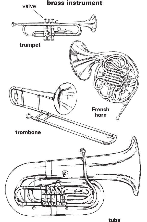 week 19: instrument families - Brass