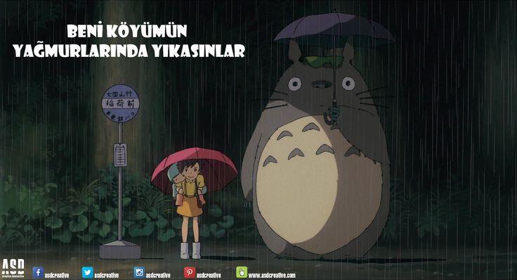 Bitmeyecek bu yağmurlar :/  #totoro #beniköyümünyağmurlarındayıkasınlar #yağmur #ingiltereyedöndük