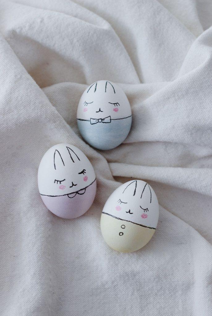 Bunny Easter Egg / Des oeufs en lapin