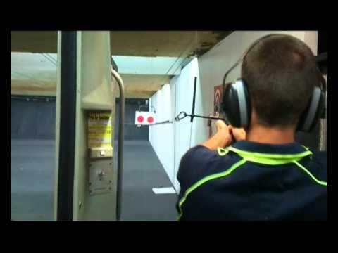 Shooting a 44 Magnum, Gold Coast, Australia