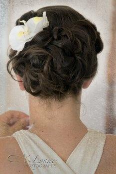 Wedding, Hair, Updo, Bridal, 50s, 40s, Sculpture, 20s