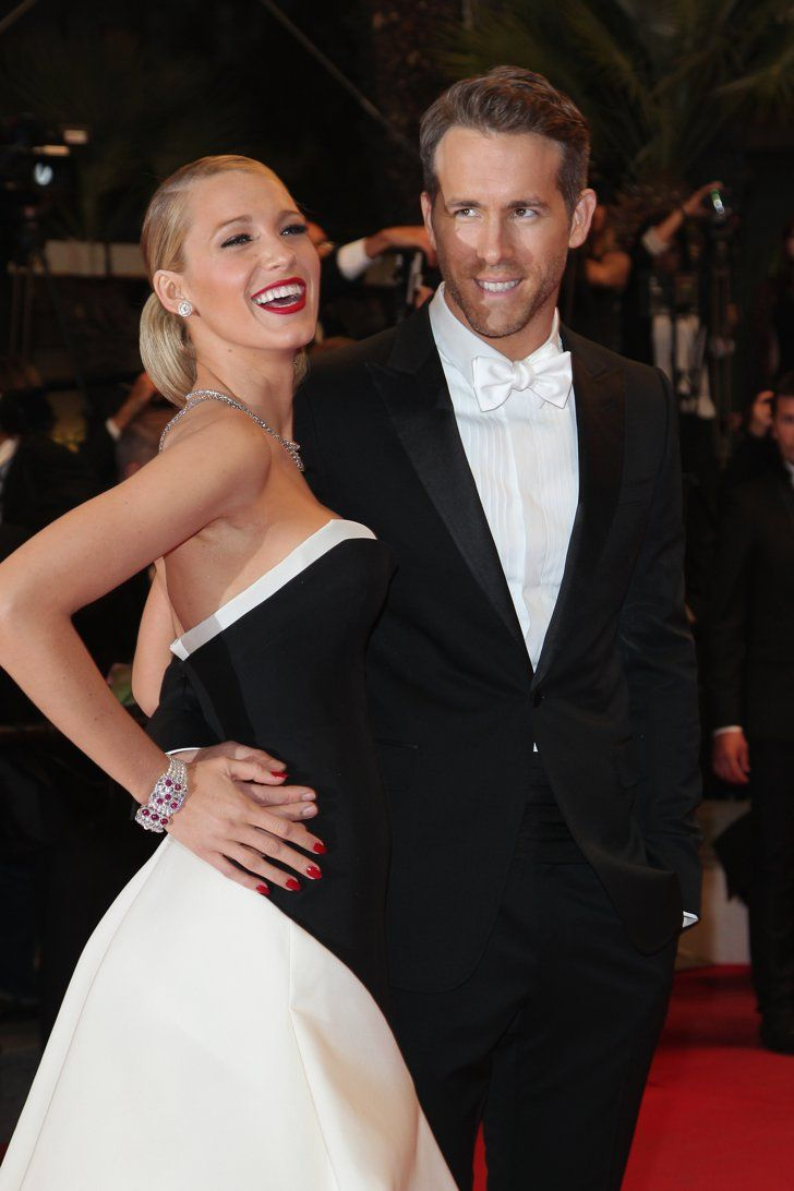 Pin for Later: All the Stars That Flocked to France For the Cannes Film Festival  Blake Lively joined Ryan Reynolds at the red carpet premiere of The Captive.