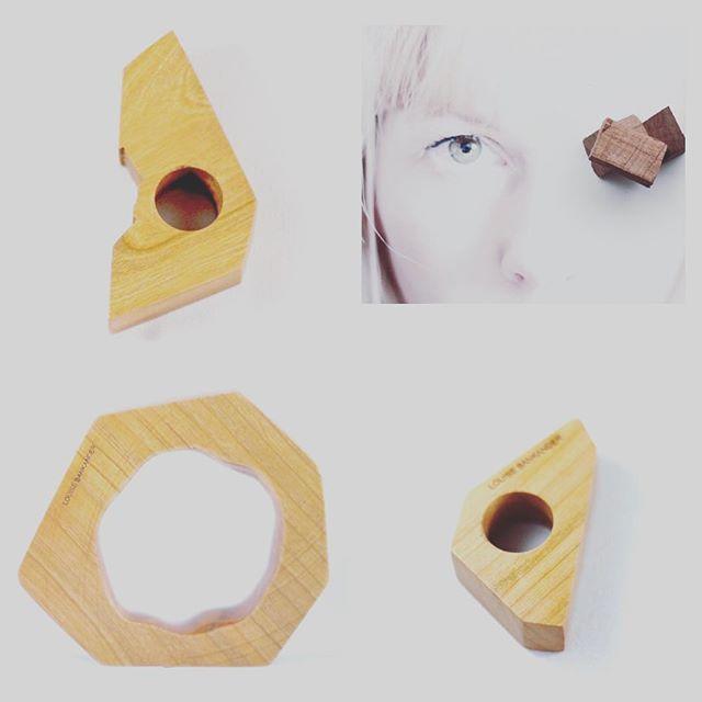 #wood #louisebankander #2016 #Stockholm #rings #bracelet #woodworking #brown #eye