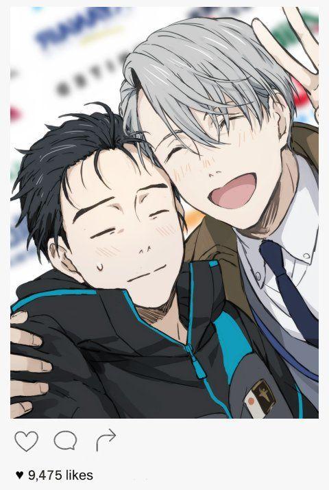 Yuri on ice- Yuri Katsuki and Victor Nikiforov