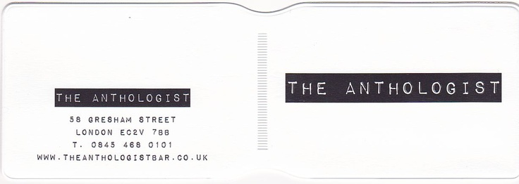 Oyster card holders  http://www.idpro.biz/oyster-cardholder/  The Anthologist
