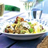 Recept - Salade met geroosterde venkel en roquefort - Allerhande