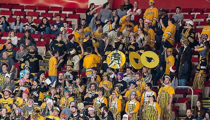 10 NCAA arenas that should host NHL preseason College hockey pep bands: Why we can't live with or without them Will the new men's WCHA playoff format catch on?