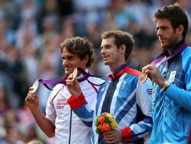 August 5 ,2012: Tennis Medal Ceremony
