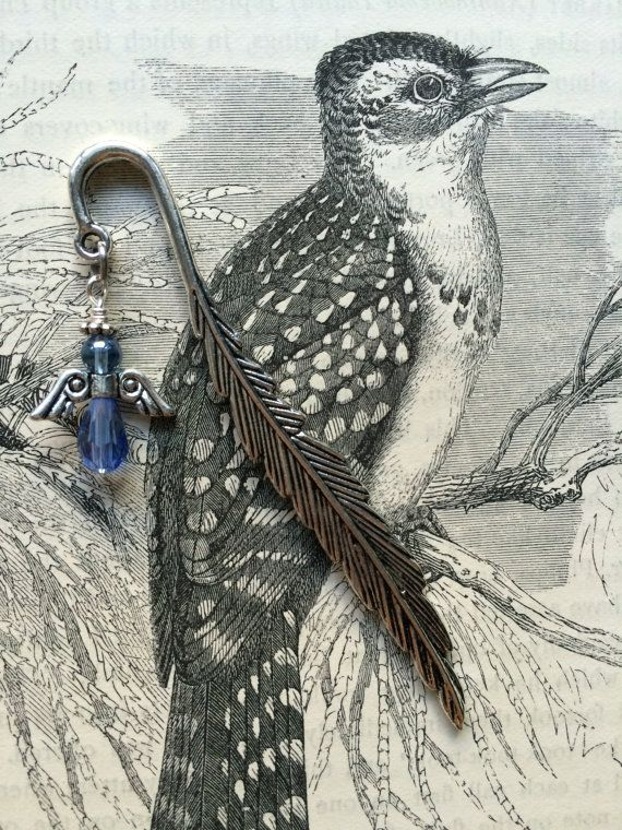 Angel Bookmark  Periwnkle Blue  made with love xx by CharmingDeva