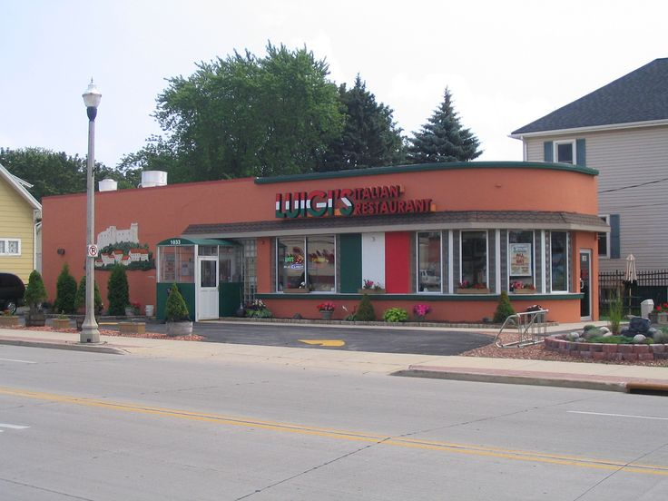 This quaint and cozy restaurant in Two Rivers, Wisconsin used to actually be an Cities Service and Enco gas station. Although from inside it's almost hard to believe, the size, shape, and positioning of the building are all hallmarks of a petroleum-r Amazing eatery.