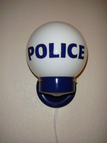 Police Station Light Wall Lamp Police Precinct Police Call Box Collector on Sale | eBay