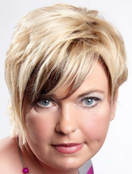 Short Hairstyle With Bangs Hair Pinterest Short