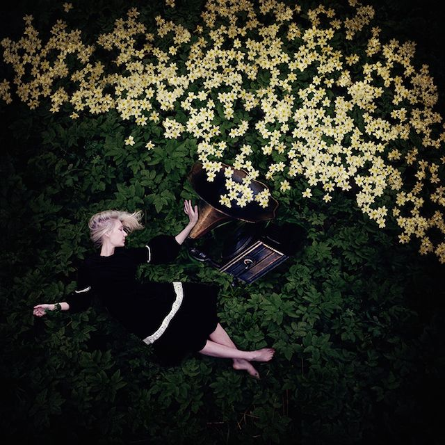 Winner of the Sony World Photography Awards 2014, Dutch photographer Kylli Sparre makes very beautiful dreamlike and fairy self-portraits where she stages herself in majestic positions in the middle of nature. Her work will be exhibited on September at Qlickeditions gallery located in Amsterdam.