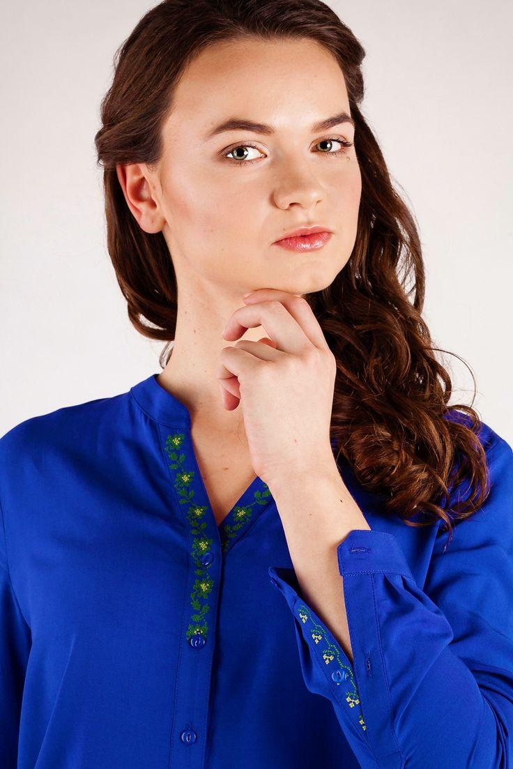Koszula damska Riuszka haft łowicki