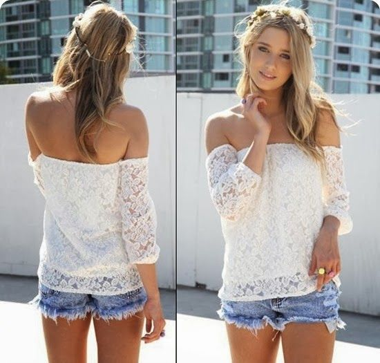 Trend: blusa ciganinha: Blusa Cigana, Blouse, Fashion Style, Blusa Ciganinha, Sewing, Escot Blusa, Blusa Escot, Escot Ciganinha, Ciganinha Escot