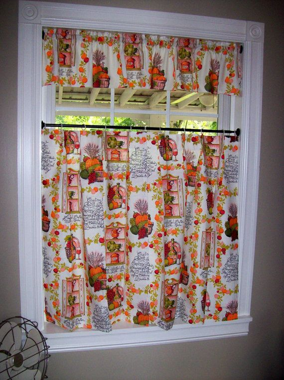 Vintage Kitchen Curtains (this Is The Look I Do Not Want: Nice For Others,  But Not What I Want). | Curtains | Pinterest | Vintage Kitchen Curtains,  Kitchen ...