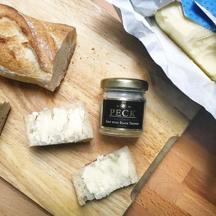 Petits plaisirs du dimanche  first trial of this black truffle salt from @peck_milano  by laurenshopper