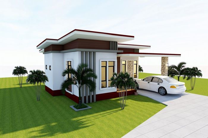 That Petite And Compact Three Bedroom House House And Decors Luxury House Plans House Design Pictures Modern Small House Design