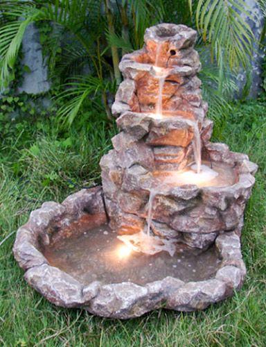 Водопад: составляющие, виды, изготовление, питание — для сада, декоративный   Строительство и ремонт