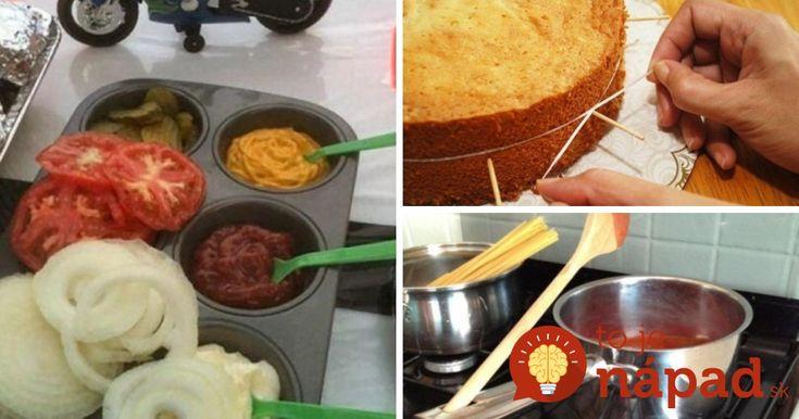 Kuchynské tipy a triky, ktoré musíte poznať!