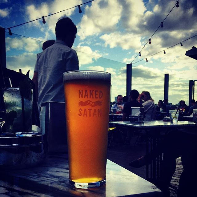 Life is good when you're naked ;-) #nakedforsatan #beer #travel #melbourne #aroundtheworld