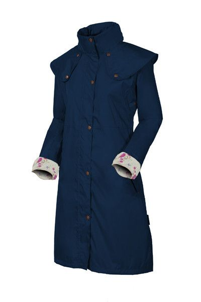Target Dry Aintree Ladies Raincoat - Dark Navy This lightweight country style raincoat for women is the Spring sister of our Outback Outrider coats