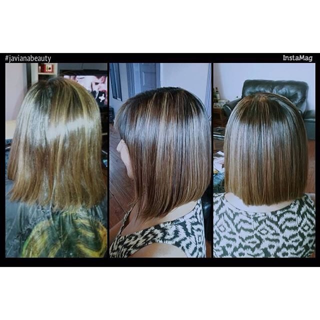 Mechas color caramelo más shock keratina javianabeauty hair hairinstagram hairinspiration cabellohermoso