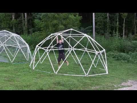 Zip Tie Domes - Geodesic Dome Greenhouse Kits and Chicken Coop Kits for Sale