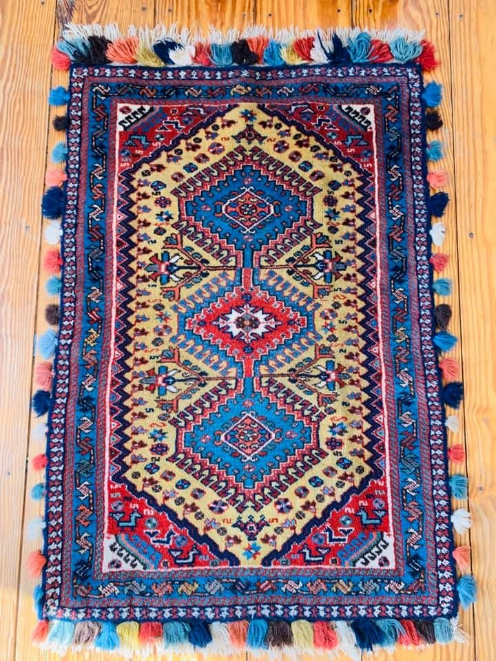 Yalameh wedding rug, 2020
